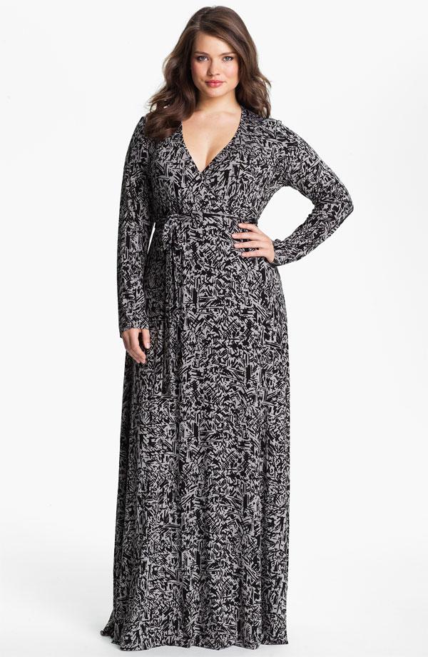 Plus Size Maxi Dresses | DressedUpGirl.com