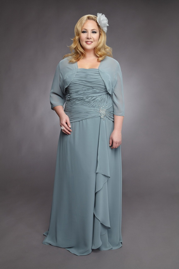 Mother Of The Groom Dresses Plus Size Kapres Molene