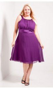 Plus Size Purple Formal Dresses