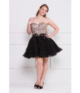 Plus Size Short Formal Dresses