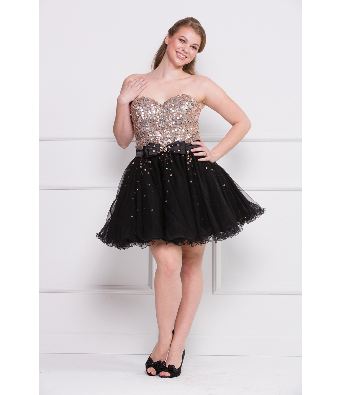 Short Plus Size Dresses