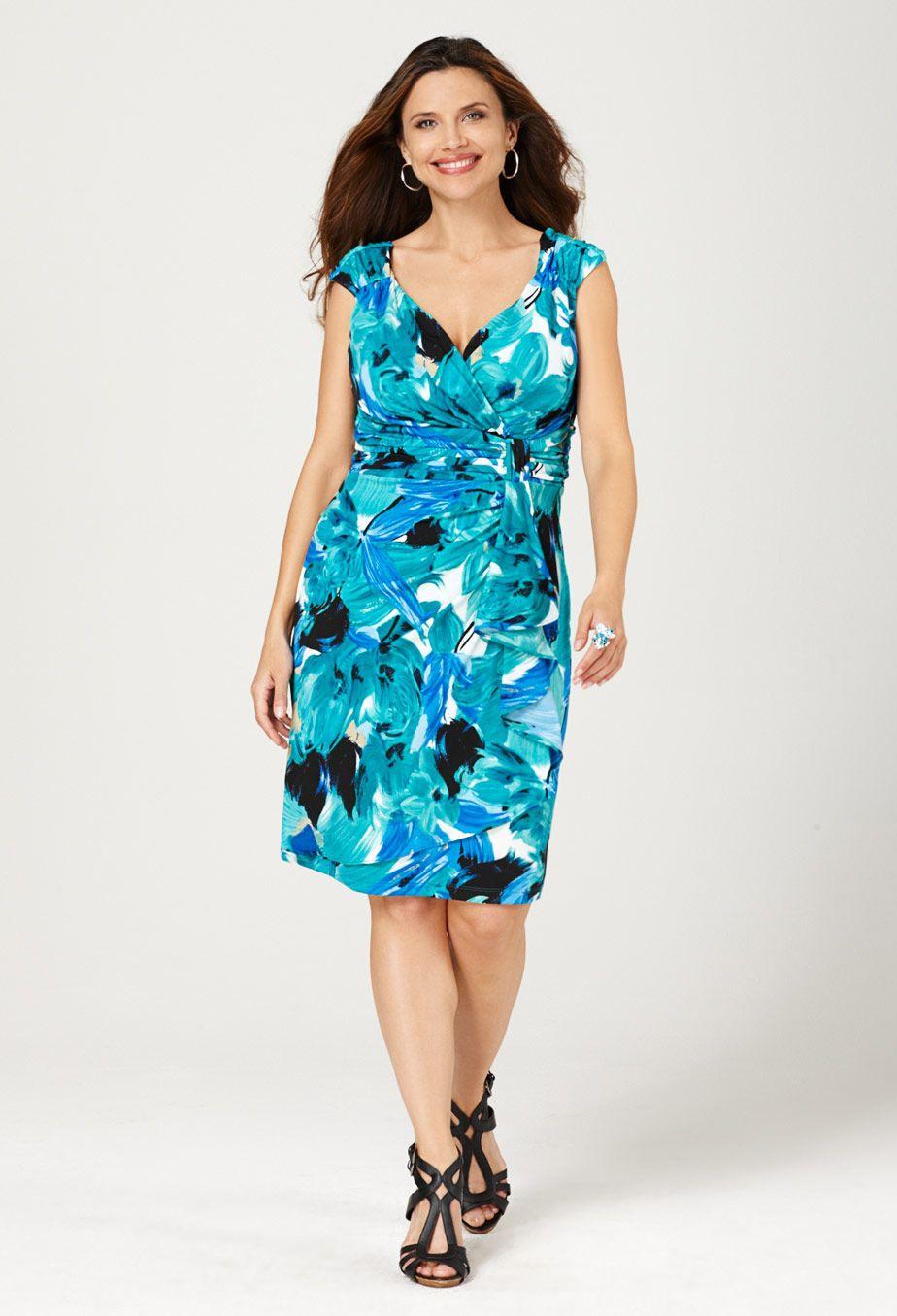 Plus Size Summer Dresses | DressedUpGirl.com