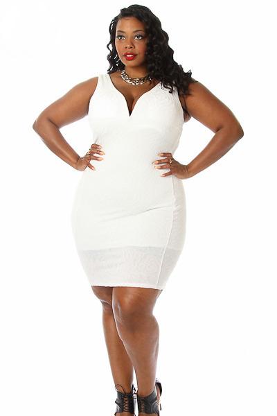 Plus Size Bodycon Dress | DressedUpGirl.com