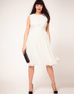 Plus Size White Summer Dresses