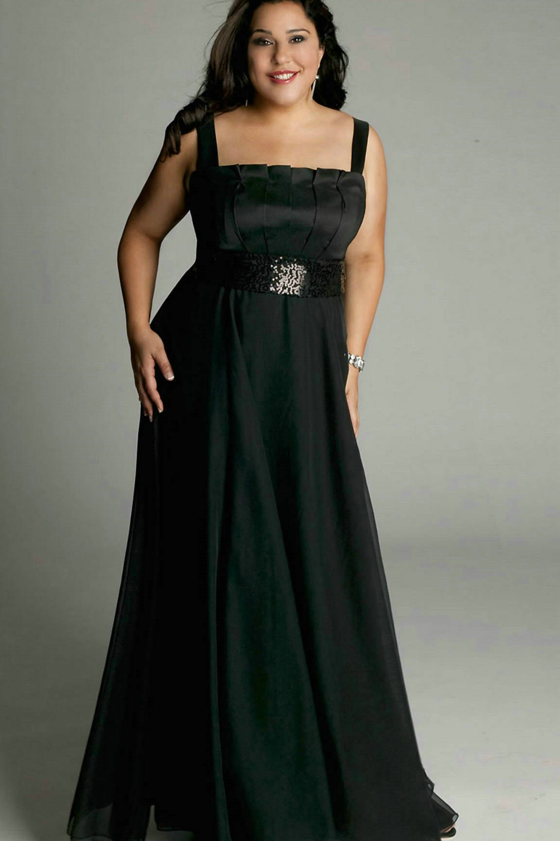 Black Plus Size Formal Dresses