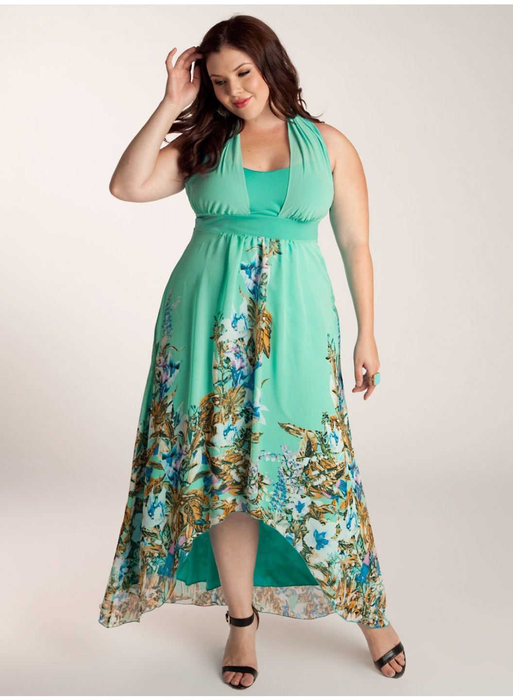 Plus Size Maxi Dresses - Dressed Up Girl