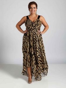 Plus Sizes Evening Dresses