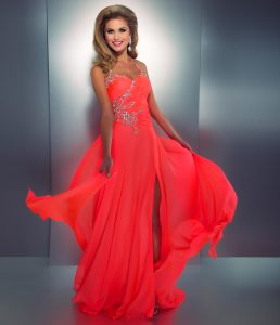 Prom Dress Coral