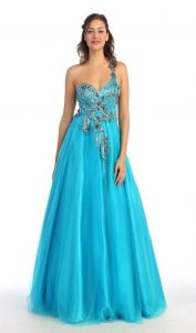 Prom Dress Turquoise