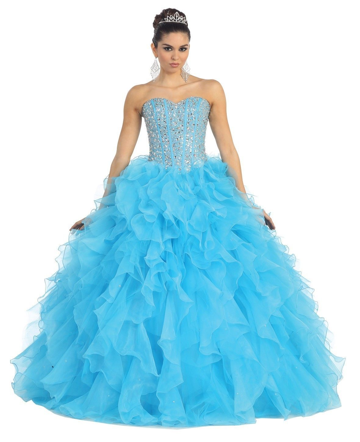Ball Gown Prom Dresses | Dressed Up Girl