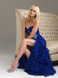 Prom Dresses Blue