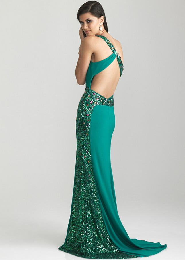 Open Back Prom Dresses Dressed Up Girl