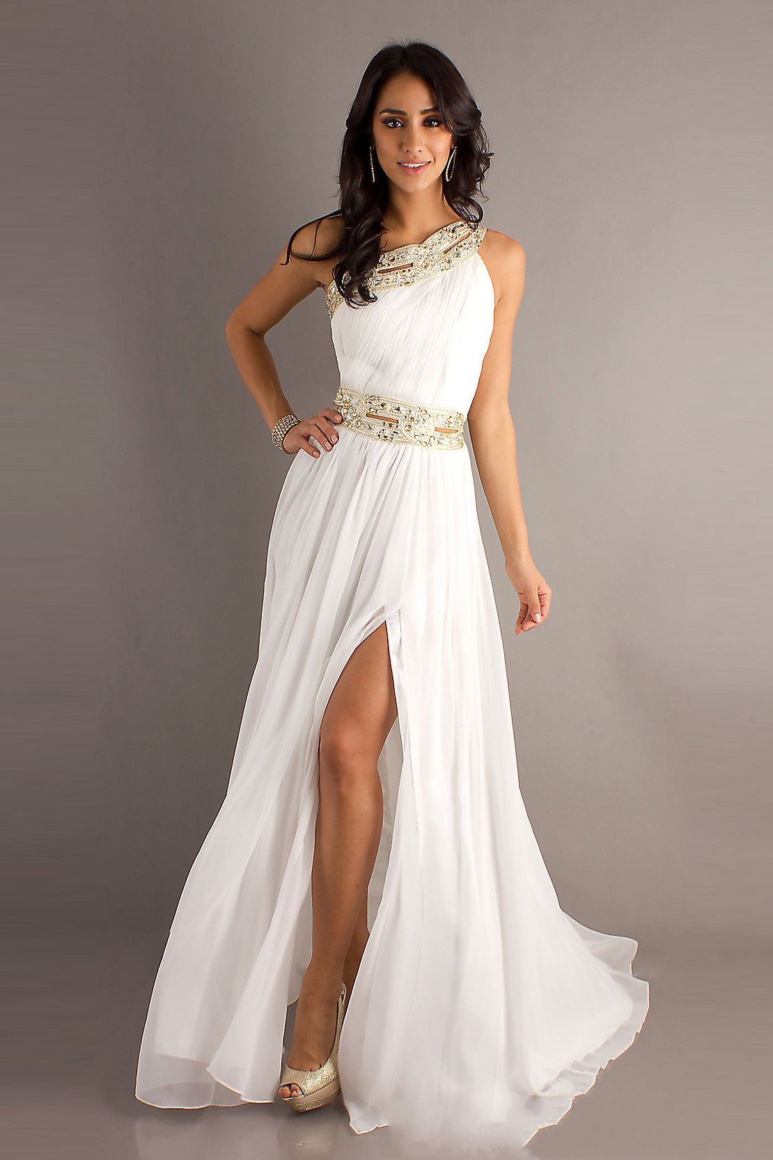 Prom Dresses All White - Boutique Prom Dresses