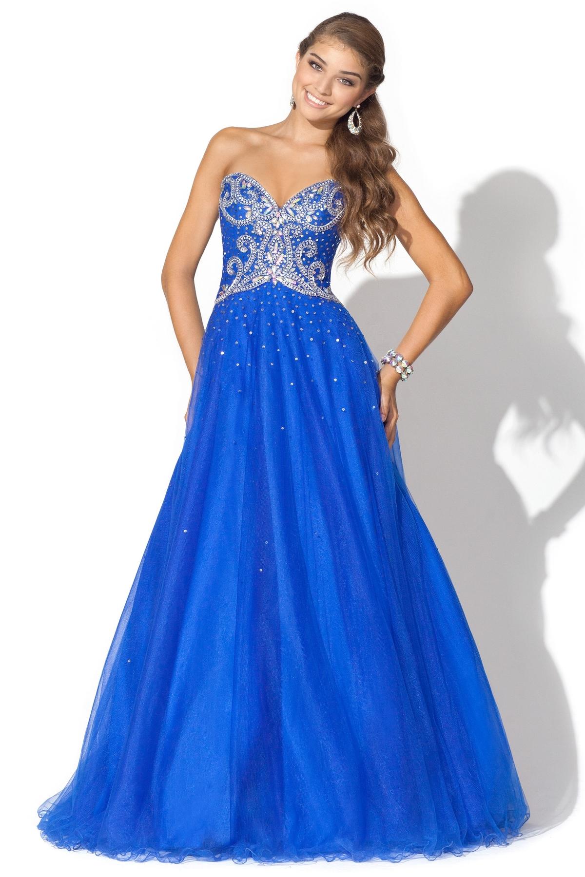Blue Prom Dresses | DressedUpGirl.com