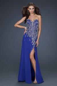 Royal Blue Prom Dresses Long