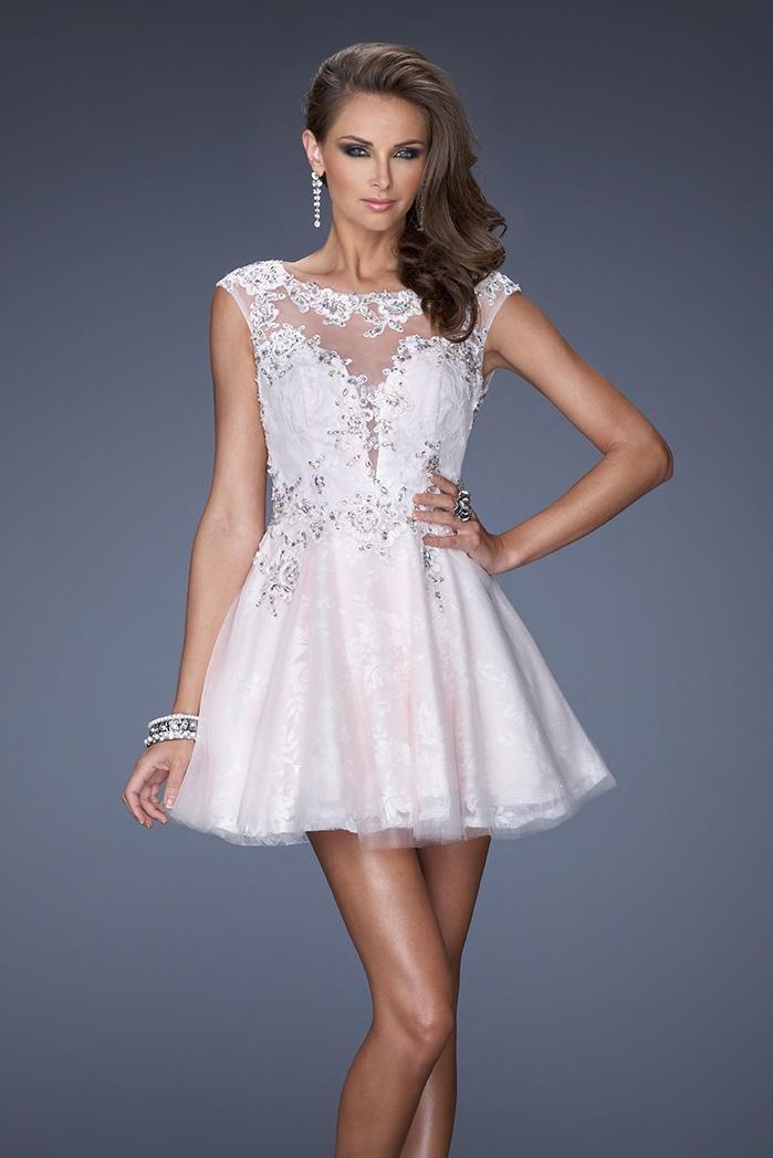 cap sleeve prom dress dressed up girl