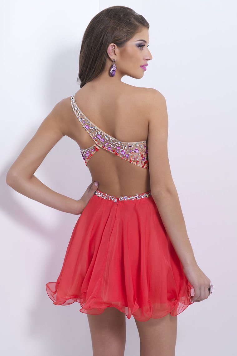 Open Back Short Dresses