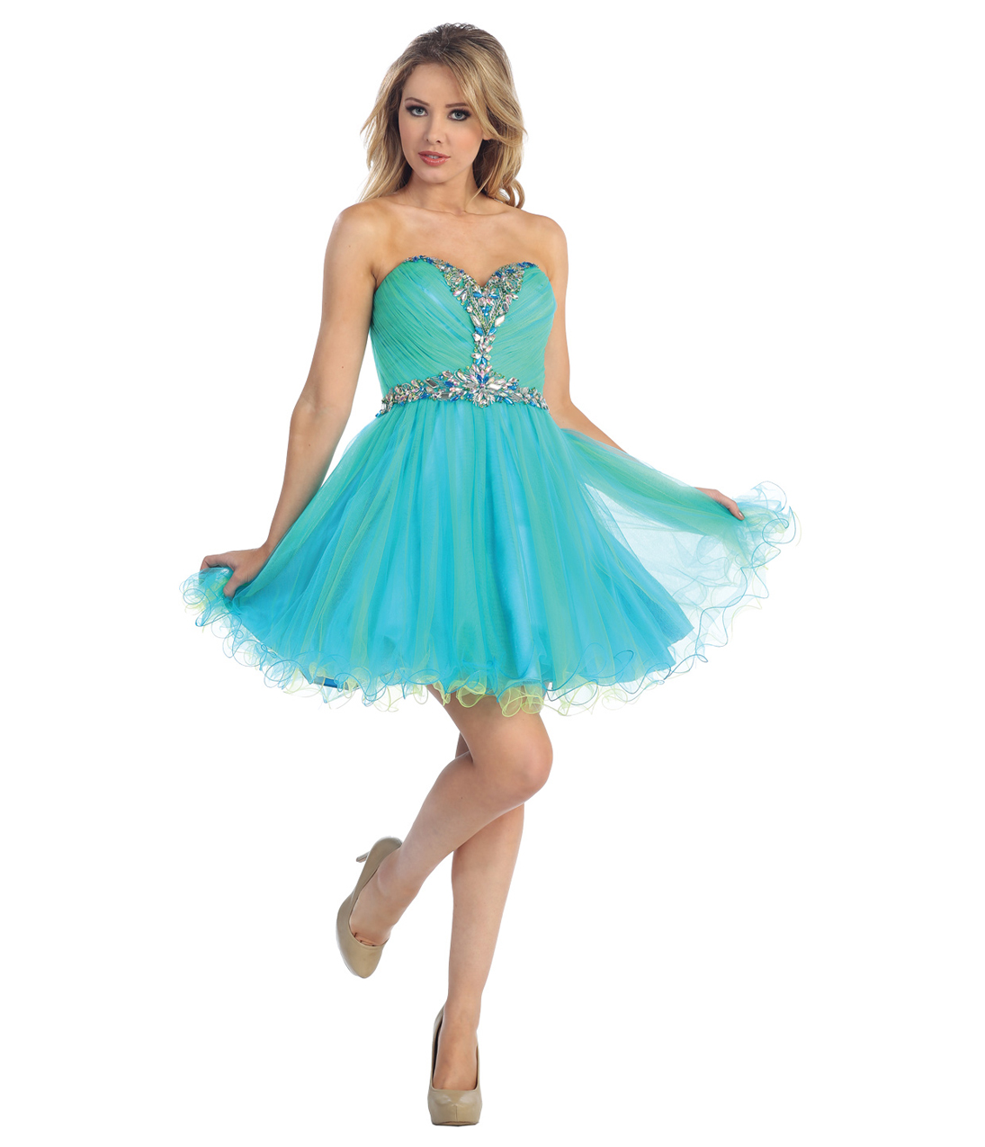 Turquoise Prom Dresses  Dressed Up Girl