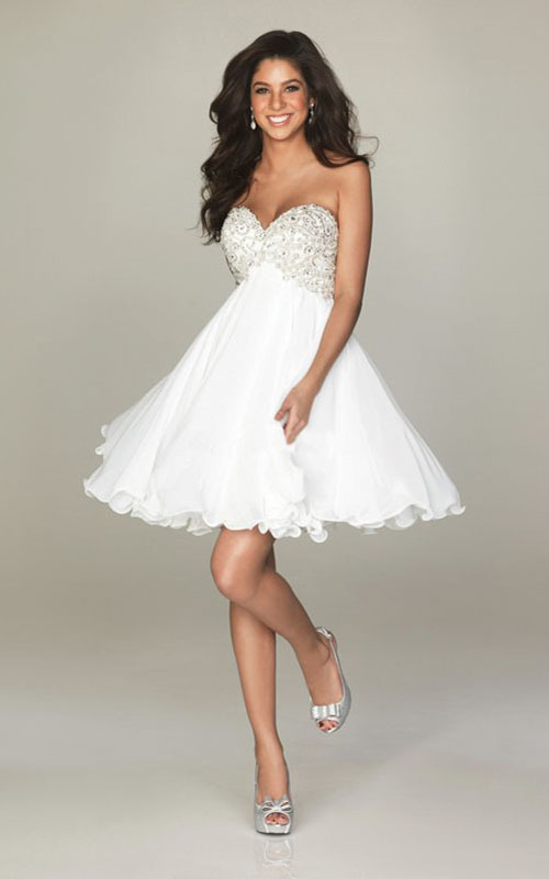 Short White Prom Dresses - Long Dresses Online