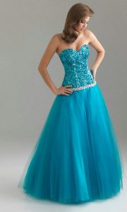 Turquoise Blue Prom Dresses