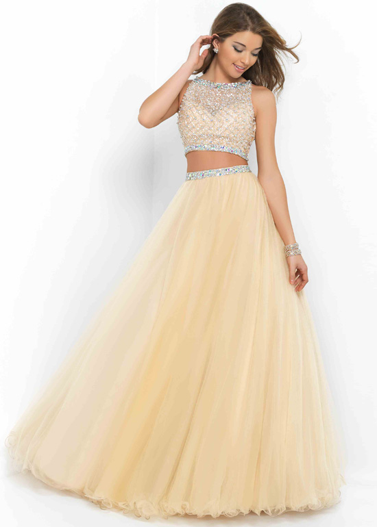 Two Pieces Prom Dresses 13