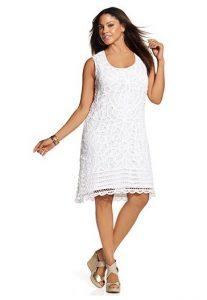 White Dresses Plus Size