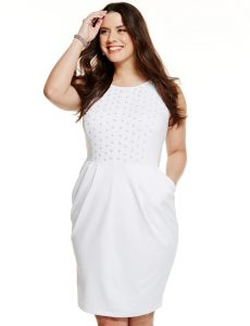 White Dresses for Plus Size