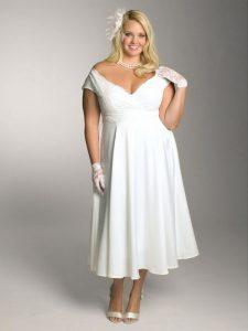 White Lace Dress Plus Size