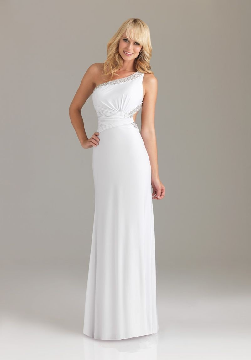 Long One Shoulder Dresses