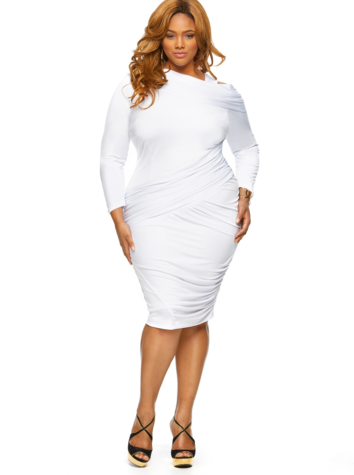 Plus Size White Outfits