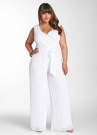 Plus Size White Dress | DressedUpGirl.com
