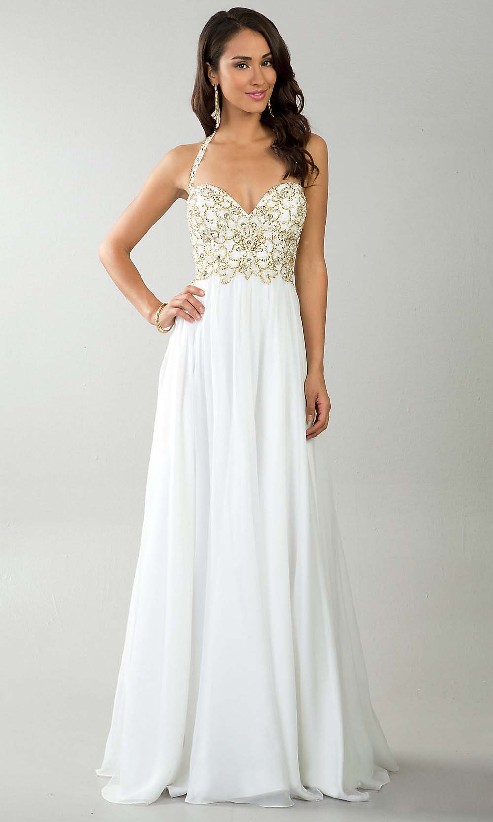 White Dresses For Prom 106
