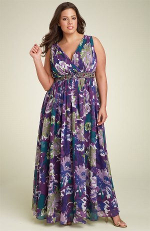 Plus Size Summer Dresses - Dressed Up Girl