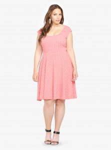 Plus Size Skater Dresses