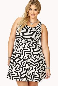 Plus Size Skater Dresses for Women