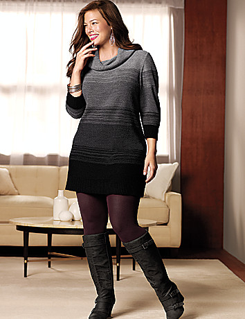 Plus Size Sweater Dress Dressed Up Girl