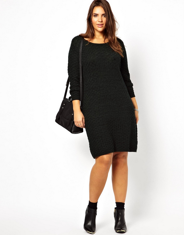 Plus Size Sweater Dress | DressedUpGirl.com