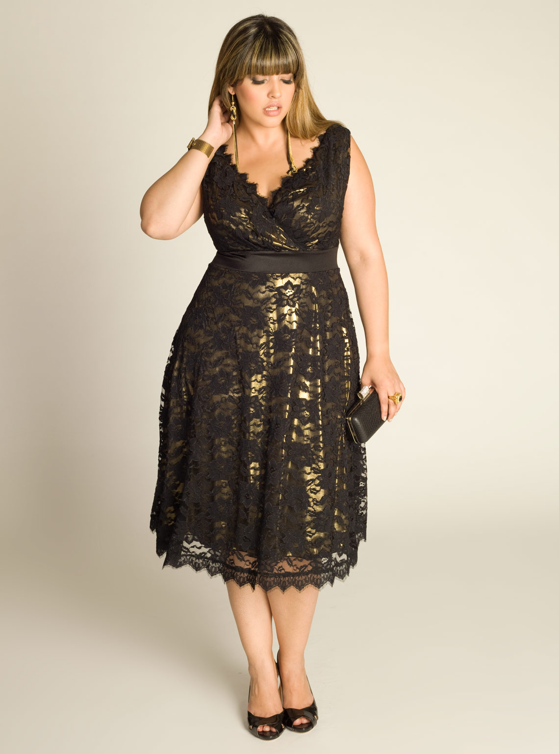 Plus Size Vintage Tail Dresses