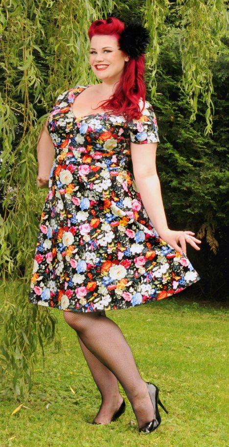 Plus Size Vintage Dresses Dressed Up Girl