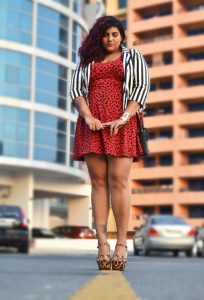 Skater Dress Plus Size
