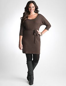 Sweater Dress Plus Size