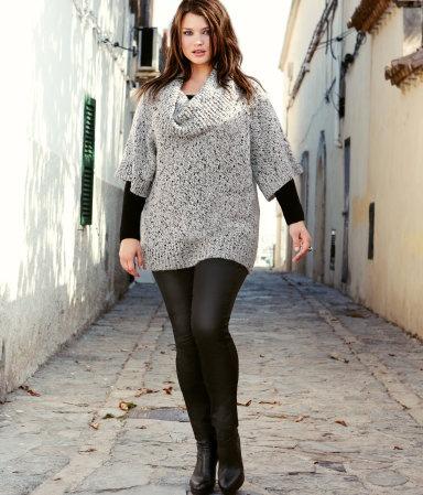 Plus Size Sweater Dress | DressedUpGirl.com