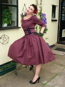 Vintage Dress Plus Size
