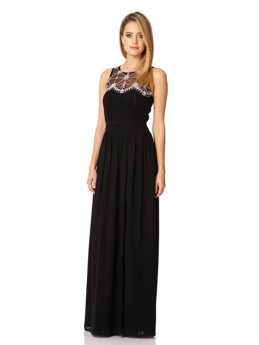 Black Maxi Dress Dressedupgirl Com