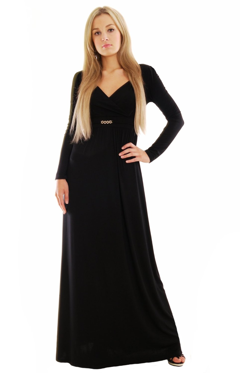 Black Maxi Dress | Dressed Up Girl