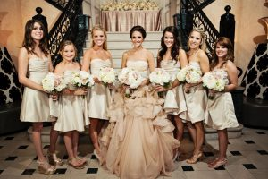 Champagne Color Bridesmaid Dresses