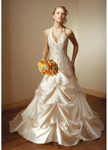 Champagne Color Wedding Dresses