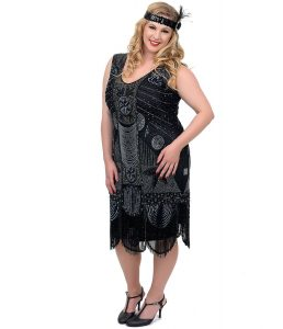 Flapper Plus Size Dress