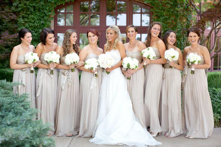 Beige Bridesmaid Dresses Style R101 Short: Champagne Bridesmaid Dresses