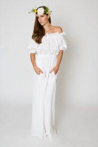 Long Maxi White Dress